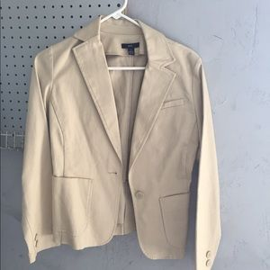 Tan GAP blazer size XS